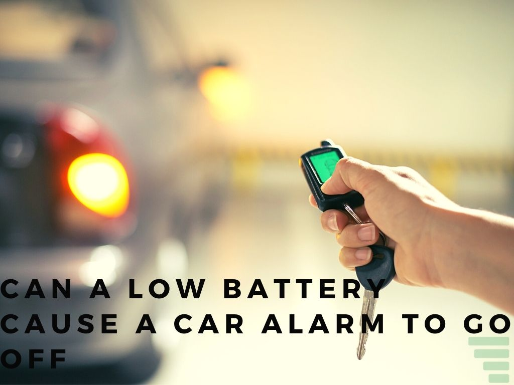 Can a Low Battery Cause a Car Alarm to Go Off