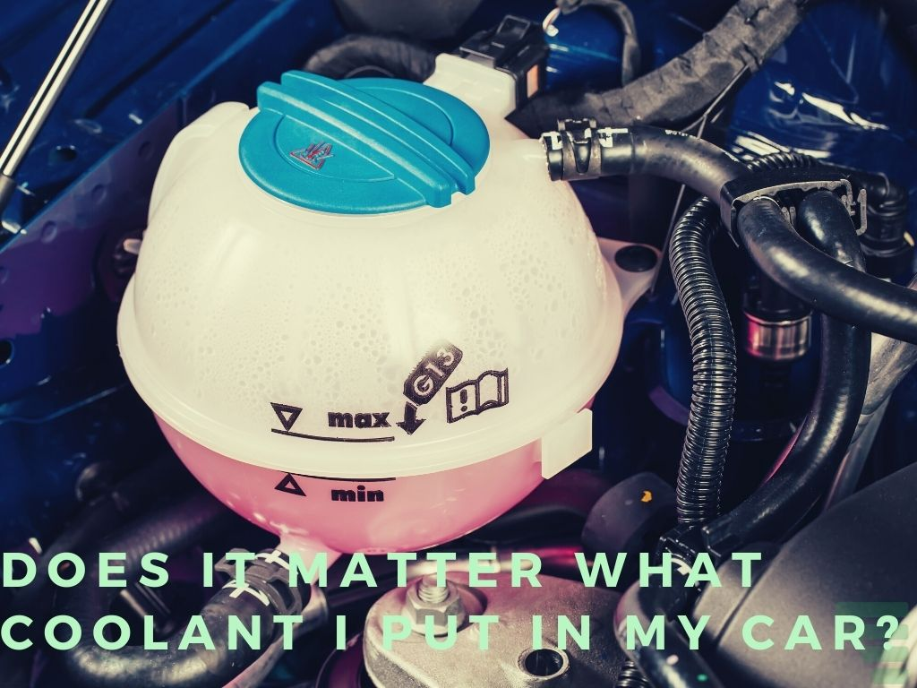 Does It Matter What Coolant I Put in My Car?