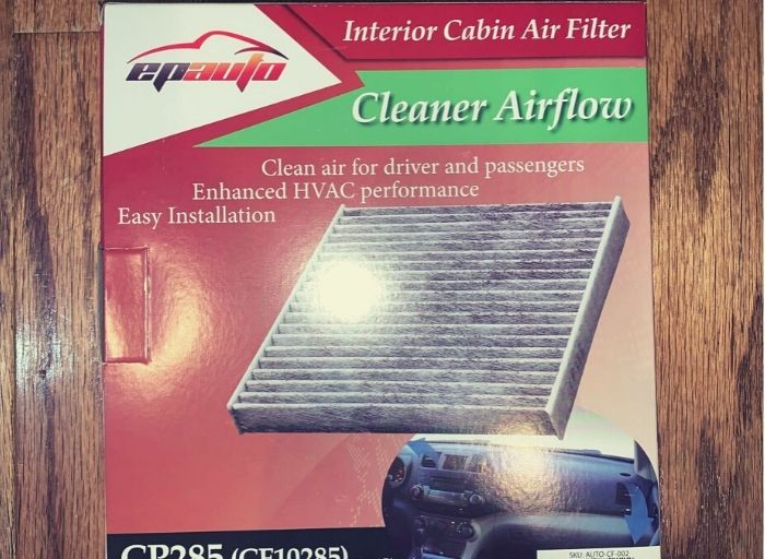EPAuto Replacement Cabin Filter With Activated Carbon