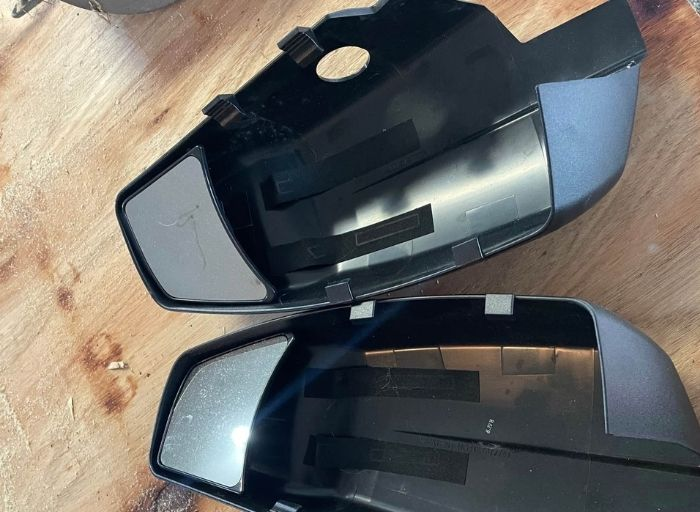 Fit System 80910 Truck Clip-On Towing Mirror