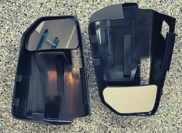Fit System 81850 Towing Mirror Pair