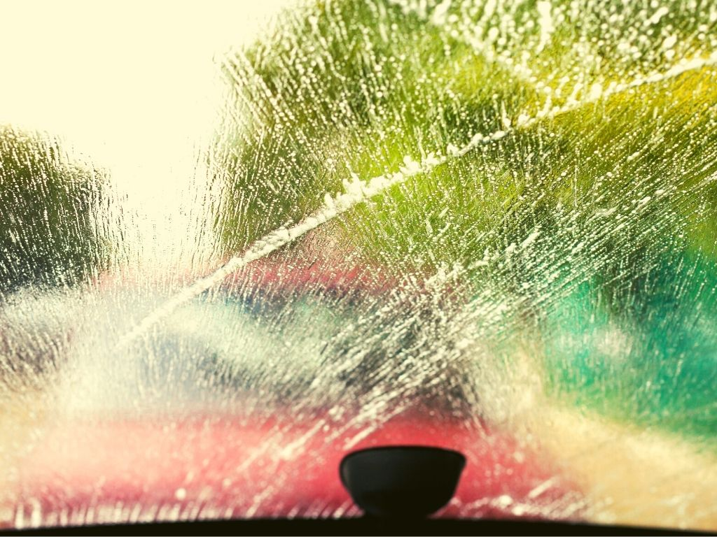 How to Put Windshield Wiper Fluid in Car in 6 Easy Steps - Step 6 testing