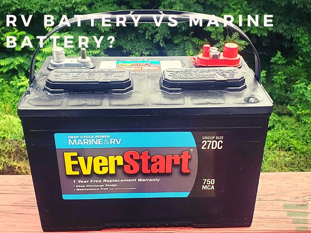 What Is the Difference Between Rv Battery and Marine Battery?